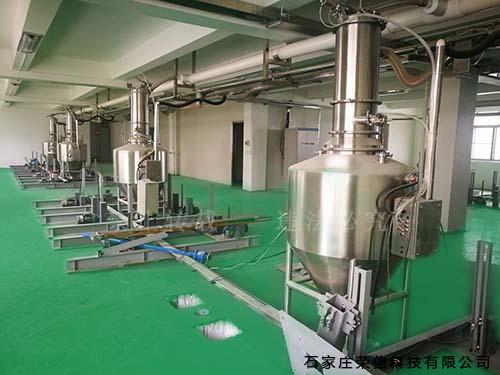 食品行业气→力输送系统