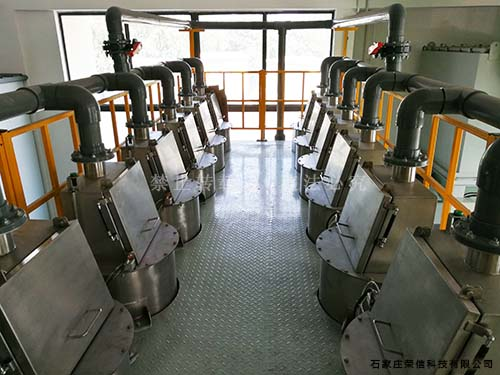 高铁闸片自动土神盾配料系统