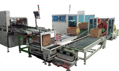 浅谈自¤动化机械加工生产线